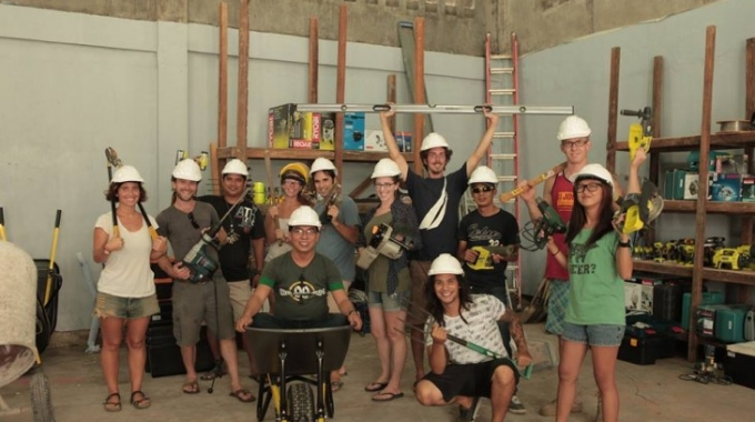 Building an Innovative Maker Space in Post-Disaster Philippines