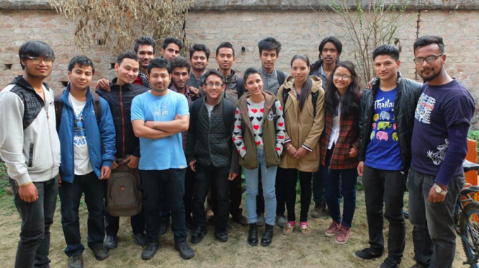 Robotics Association of Nepal Trains Young Programmers